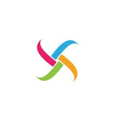adoption and community logo vector image