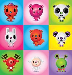 Animals friends vector