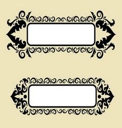 blank label 4 vector image