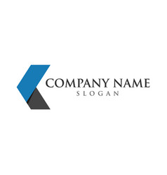 business logo graphic design template vector image
