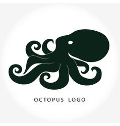Octopus logo vector