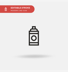 paint spray simple icon vector image