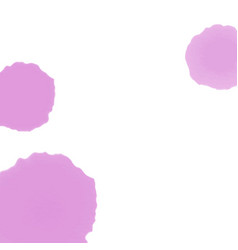 pastel watercolor stain with place vector image
