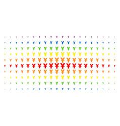 Yuan spectral halftone matrix vector