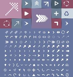 Arrow Collection vector image