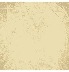 Scratched vintage grunge background vector image vector image