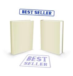 best seller book vector image vector image
