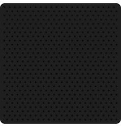 a black perforated metal vector image vector image