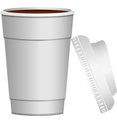 Coffee go on vector image