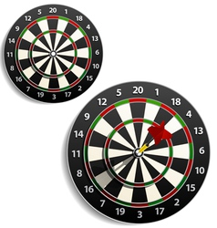 Darts set vector