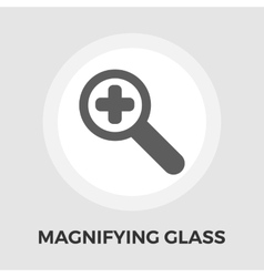 Search flat icon vector image