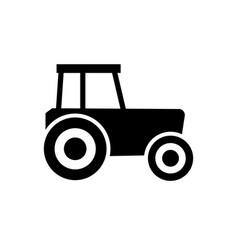 tractor icon symbol vector image