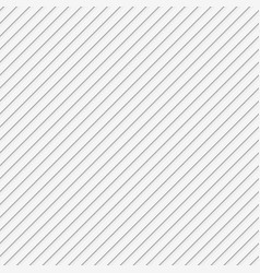 White seamless diagonal stripe pattern background vector