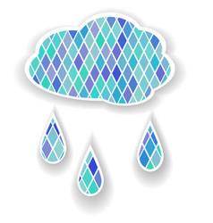 cloud7 vector image vector image