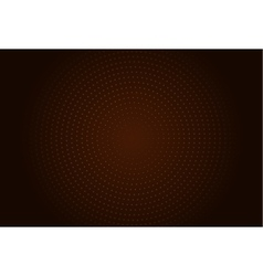 Abstract circle halftone vector image