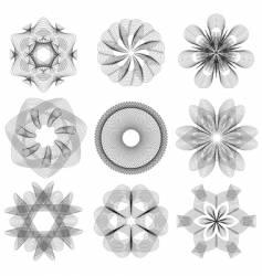 pozetta vector image vector image