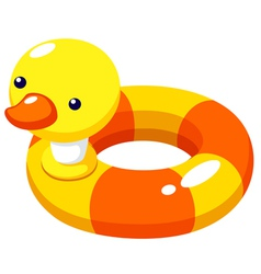Swim ring vector image vector image