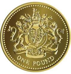 british money vector image