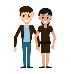 couple people relationship image vector image vector image