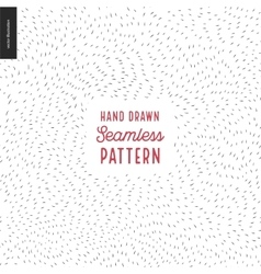 Hand drawn back and white pattern vector image