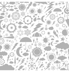 Background weather2 vector image