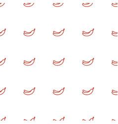 banana icon pattern seamless white background vector image