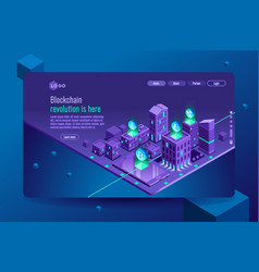 exchange and commerce isometric infographic vector image