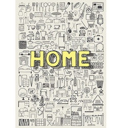 home building vector image