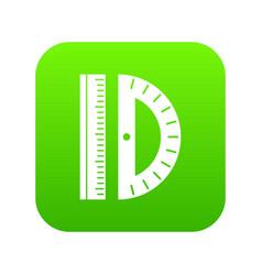 Line icon digital green vector