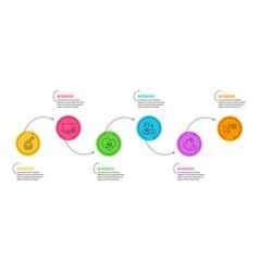 Time management euler diagram and businessman vector