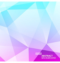 Abstract Green - Violet Geometric Background vector image vector image