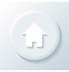 Home 3D Paper Icon vector image vector image