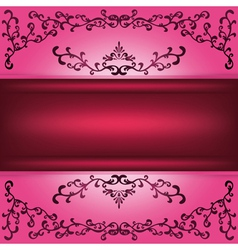 Background with decorative ornament vector image