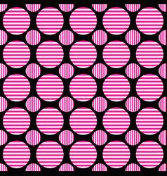 Abstract repeating pattern - circle design vector