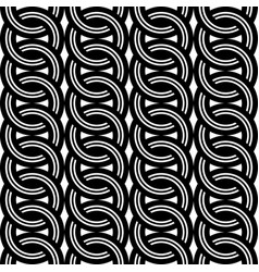 design seamless chain pattern vector image