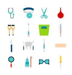 objects medical tools vector image