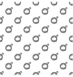 Saute pan pattern seamless vector