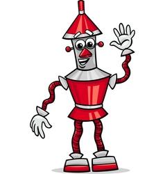 Fanatasy robot cartoon vector