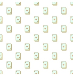 Playing cards pattern cartoon style vector