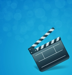 film cinema background vector image vector image