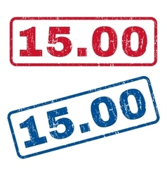 1500 Rubber Stamps vector