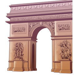 arch titus vector image