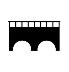 bridge icon vector image