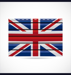 Britain siding produce company icon vector image