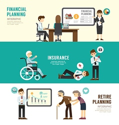 Business design planning concept people set vector image