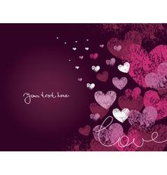Card valentine day vector