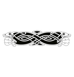 Celtic national drawing vector