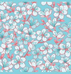 Pastel cyan background with light blue vector