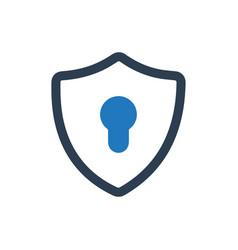 Security icon vector