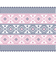 of ukrainian folk seamless pattern vector image